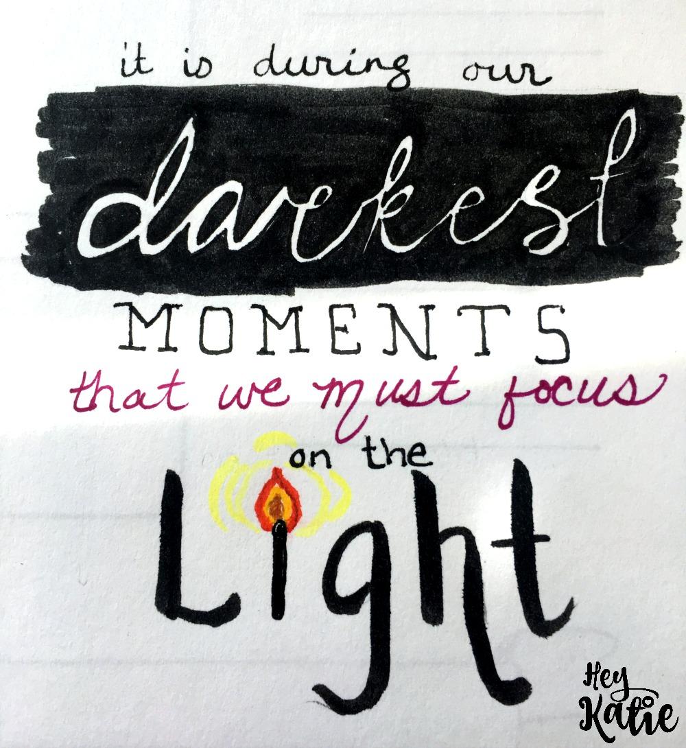 Focus on the light