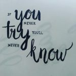 100 Days of Hand Lettering Progression