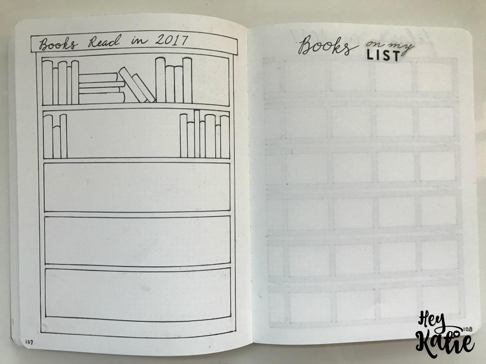 Setting Up 2017 Bullet Journal
